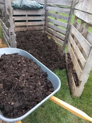 Finished Compost Bin