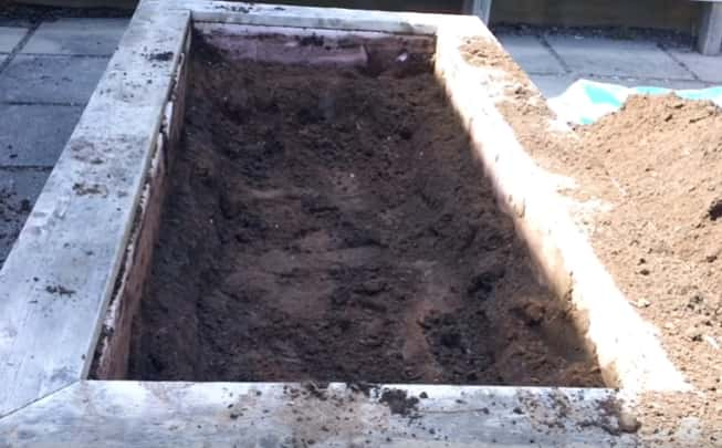 Fill Raised Garden Bed