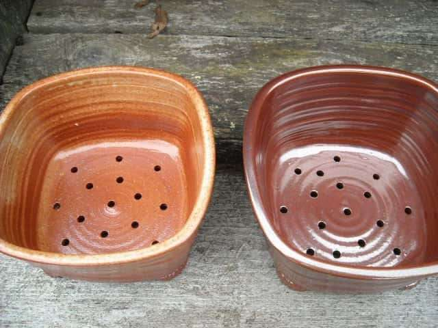 Pots with Drainage Holes