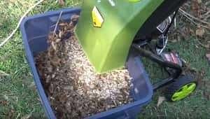Electric Shredder Mulch