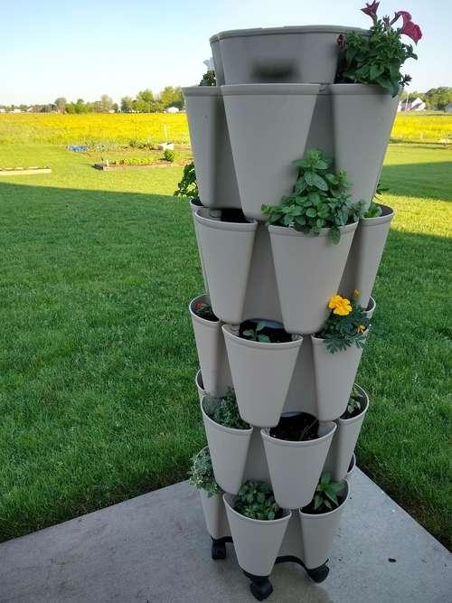 Vertical Grow Tower